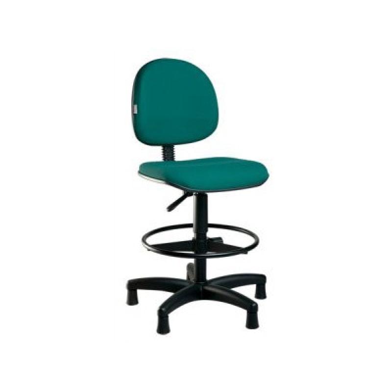 Cadeira Alta para Escritório Vila Barreto - Cadeira para Escritório sem Rodinha