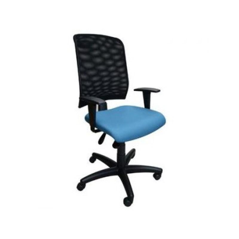 Cadeira com Rodas para Escritórios Jaguaré - Cadeira Giratória com Braço para Escritório