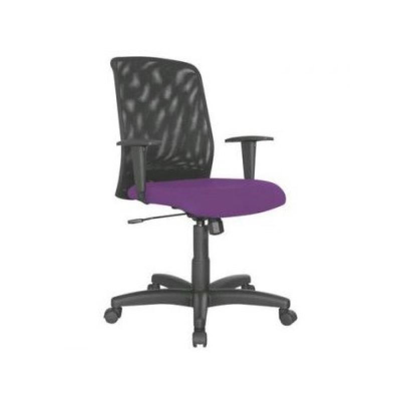 Cadeira Giratória com Braço para Escritório Raposo Tavares - Cadeira para Escritório Simples