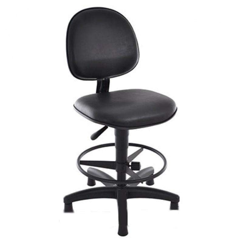 Cadeira para Escritório Alta Preço Vila Anglo Brasileira - Cadeira Alta para Escritório