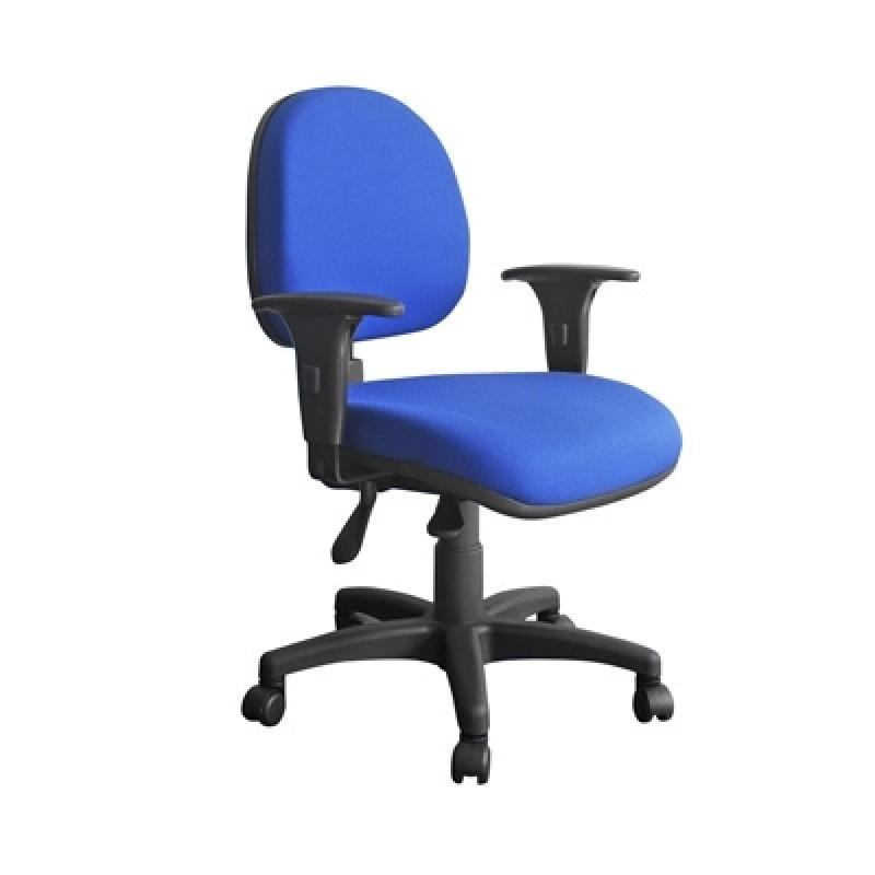 Cadeira para Escritório Ergonômica Franco da Rocha - Cadeira Giratória com Braço para Escritório