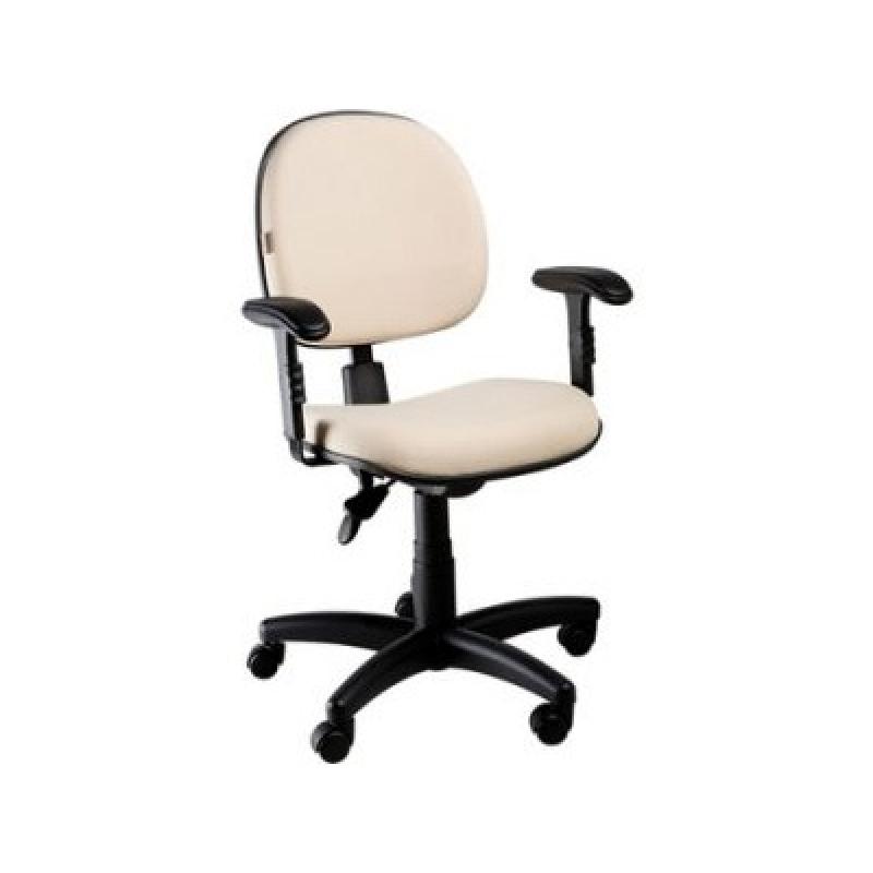 Cadeira para Escritório Secretária Vila Barreto - Cadeira para Escritório sem Rodinha