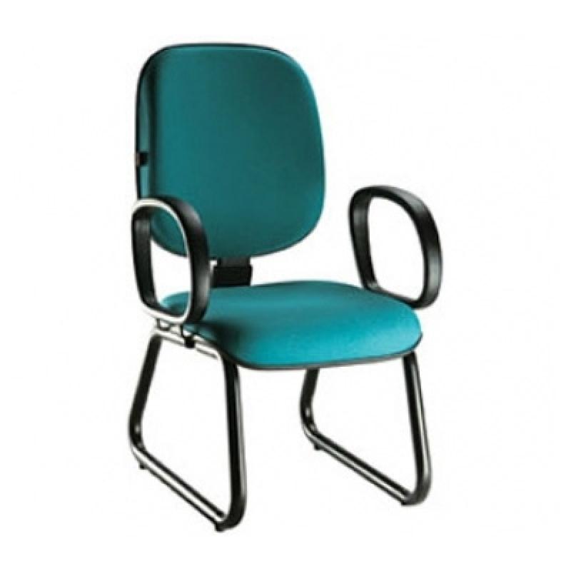 Cadeira para Escritório sem Rodinha Parque Retiro do Carrilho - Cadeira para Escritório Confortável