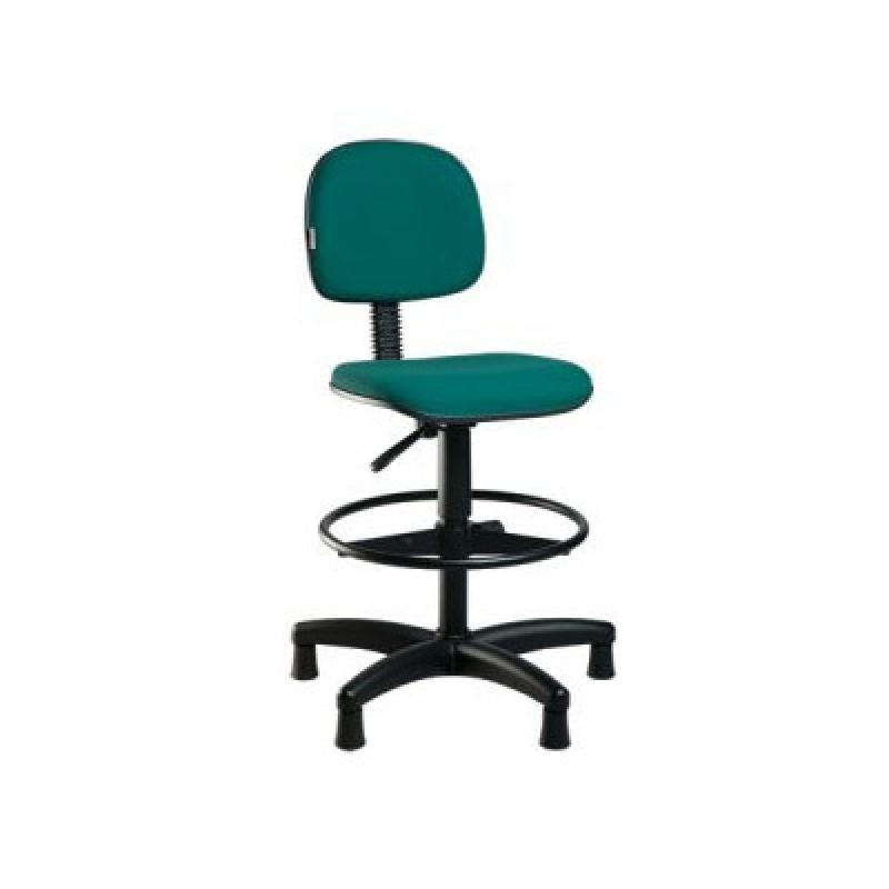 Cadeira para Escritórios Simples Água Branca - Cadeira Alta para Escritório