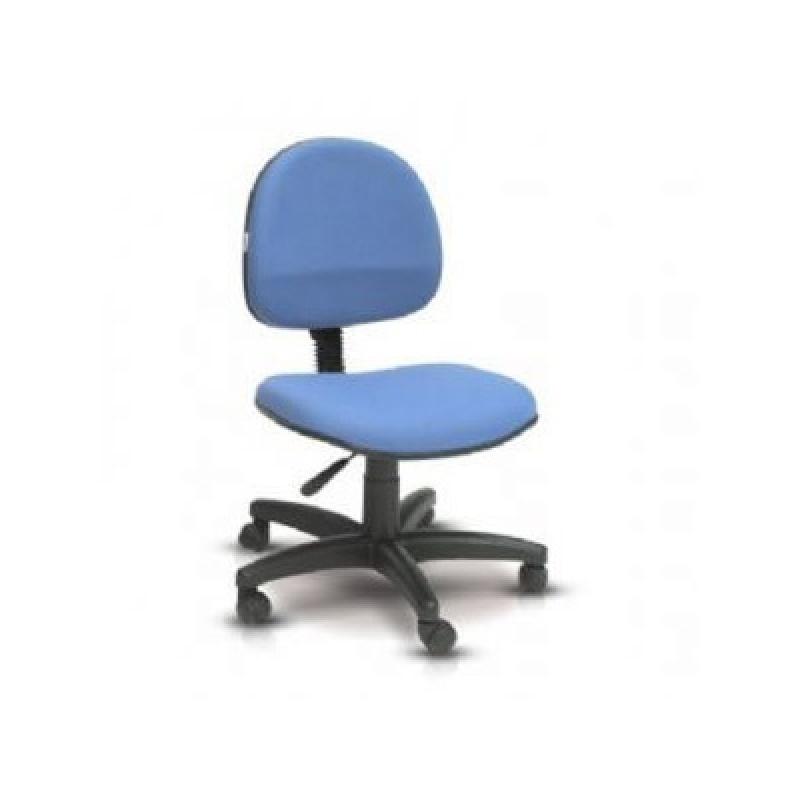 Cadeira Simples para Escritório Jardim da Fonte - Cadeira Alta para Escritório