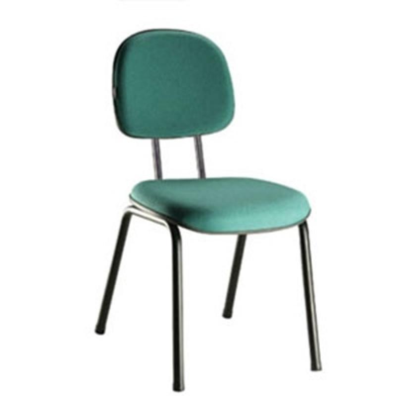 Comprar Cadeira para Escritório sem Rodinha Vila Suzana - Cadeira Giratória com Braço para Escritório
