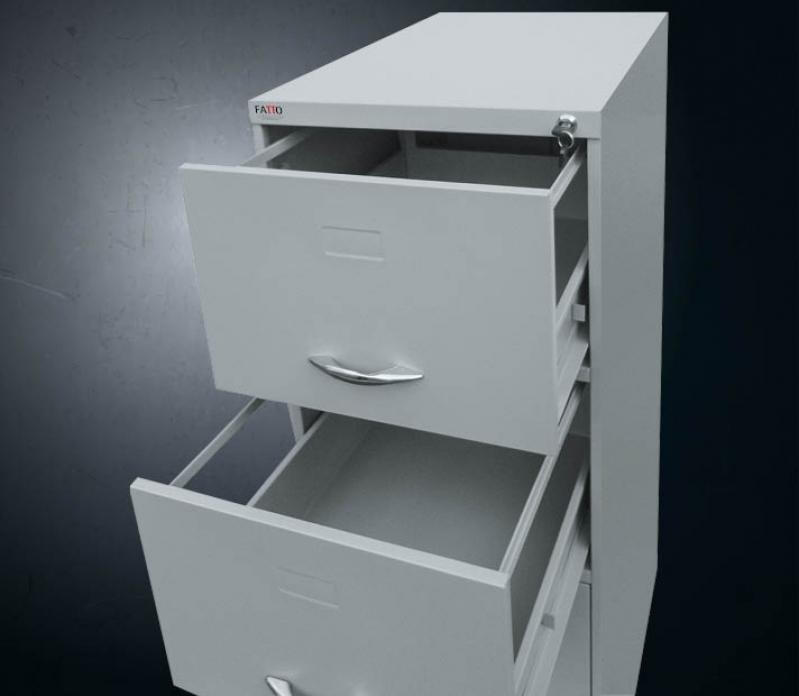 Gaveteiro Arquivo de Aço Conjunto Residencial Butantã - Gaveteiro de Arquivo para Fichas