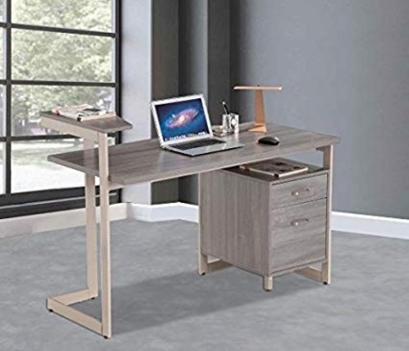 Gaveteiro de Mesa para Escritório Vila Chalot - Mesa para Reunião Escritório
