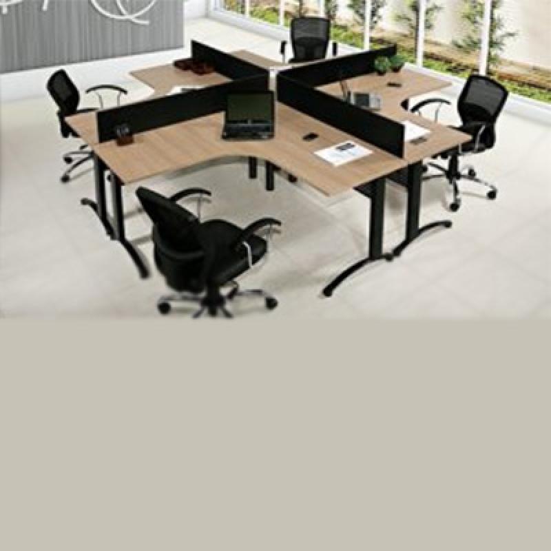 Mesa Plataforma para Escritório Orçar Barra Funda - Mesa para Reunião Escritório