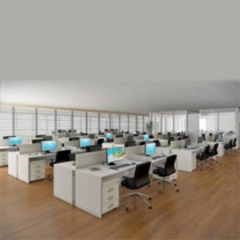 Mesa Plataforma para Escritório Cidade Santos Dumont - Mesa para Reunião Escritório