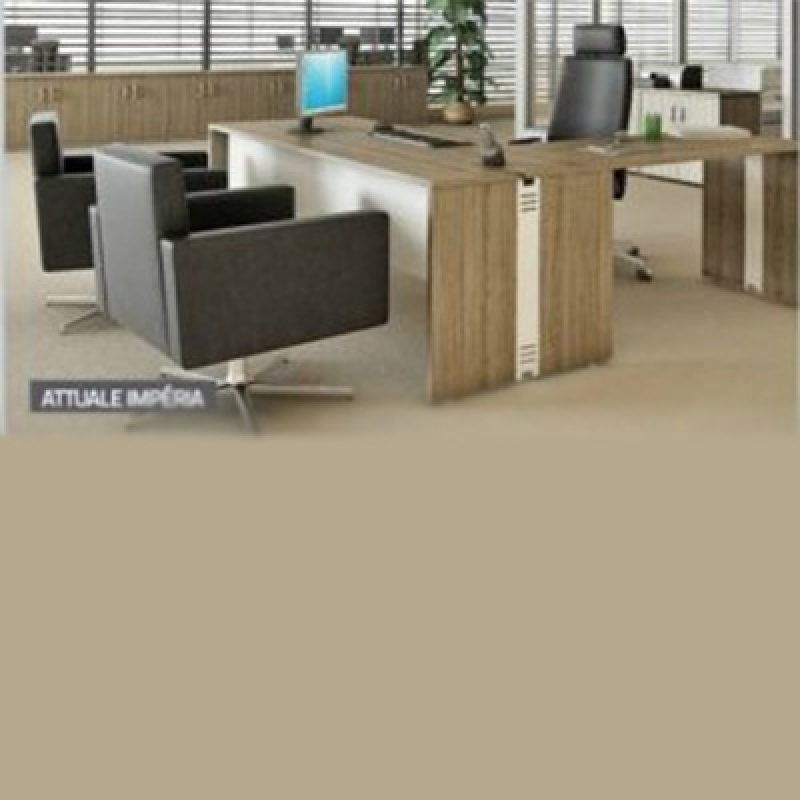 Mesas Plataformas para Escritórios Jardim Fepasa - Mesa para Reunião Escritório