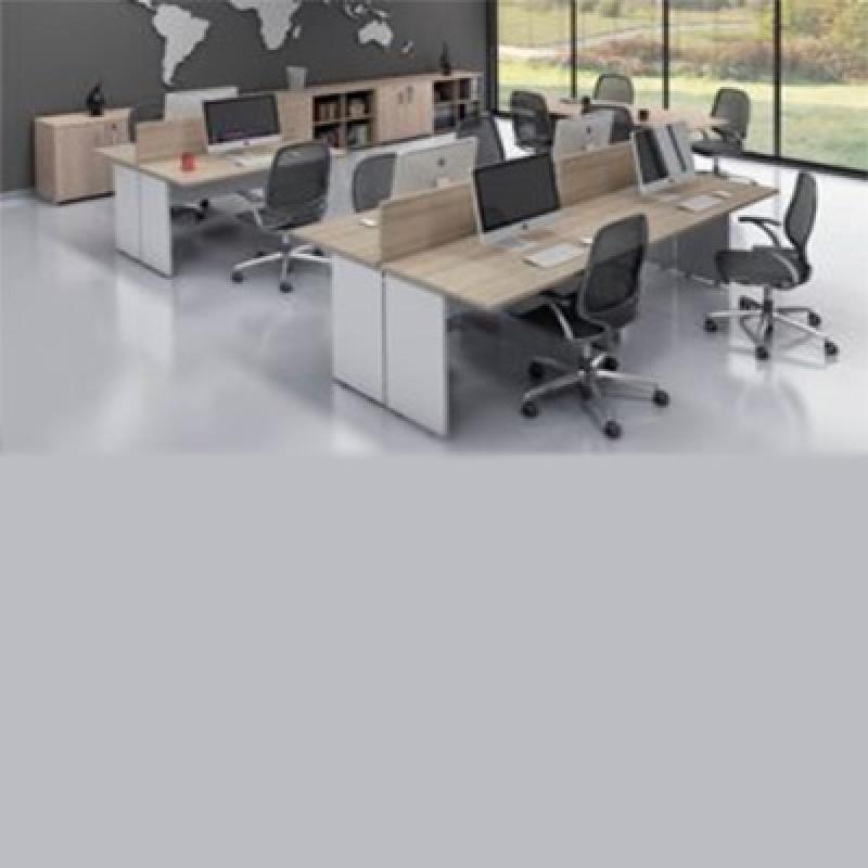 Onde Encontro Mesa Plataforma para Escritório Vila Sônia - Mesa para Reunião Escritório