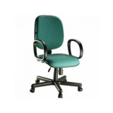 cadeira com rodas para escritório preço Vila Romana