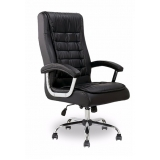 cadeira giratória com braço para escritório preço Vila Hortolândia