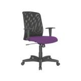 cadeira giratória com braço para escritório Gramadão