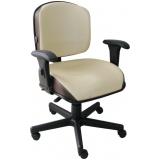 cadeira para escritório confortável preço Pompéia