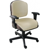 cadeira para escritório ergonômica preço Cecap