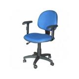 cadeira para escritório secretária preço Vila Anastácio