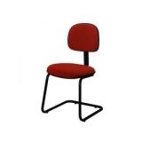 cadeira para escritório sem rodinha preço Parque Continental