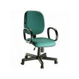 comprar cadeira giratória com braço para escritório Lapa