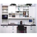 estante para escritório com gavetas para comprar Vila Arens