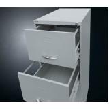 gaveteiro com arquivo pasta suspensa Sumaré