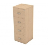 gaveteiro arquivo de madeira