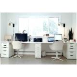 gaveteiros de mesas para escritórios Cabreúva