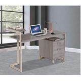 mesa com gaveta para escritório Cecap