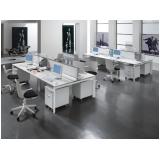 mesa estação de trabalho para escritório orçar Jardim Itália