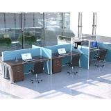 mesa de escritório para duas pessoas