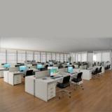 mesa plataforma para escritório Gramadão