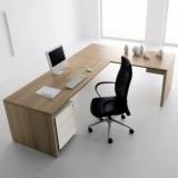 mesas de escritórios em l com gaveta Vila Caborne