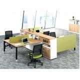 mesas estação de trabalho para escritórios Vila Hortolândia