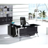 onde encontro mesa de escritório em l com gaveta Vila Portugal