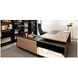 onde tem mesa de escritório em l com gaveta Parque Monteiro Soares